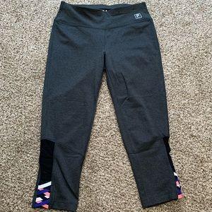 FILA Compression Cropped Workout Leggings